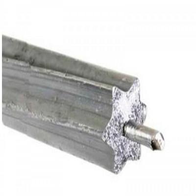 Fabricación de alambres de acero emplomado